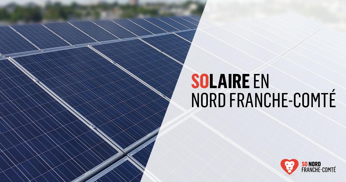 Le solaire en Nord Franche-Comté