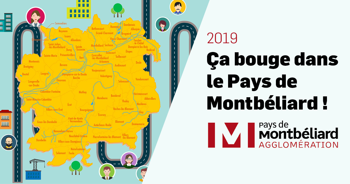 2019, ça bouge dans le Pays de Montbéliard !